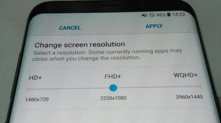 Soha nem látott felbontásokkal dolgozik a Galaxy S8 kép