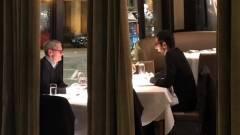 Tim Cook a Google vezérével vacsorázott kép