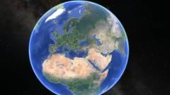 Jön az új Google Earth kép