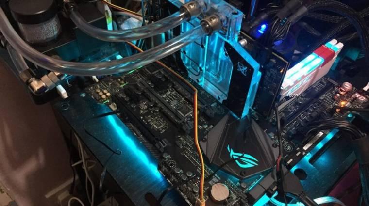 Ilyen eredményt ért el egy AMD Radeon RX 580 kép