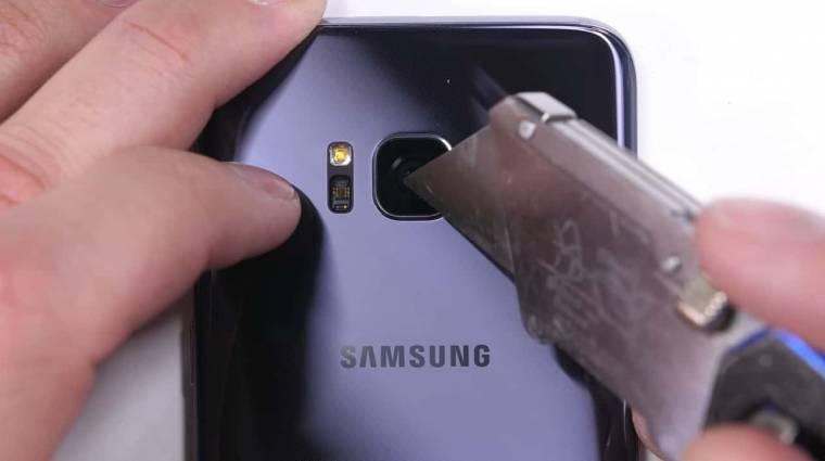 A Galaxy S8 mindent túlél kép