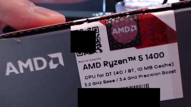Erre képes a játékokban az AMD Ryzen 5 1400 kép