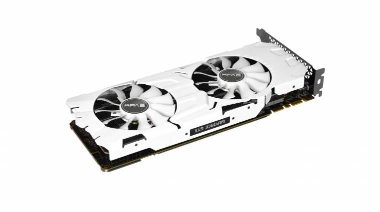 Fehérben is menő a GeForce GTX 1080 Ti kép