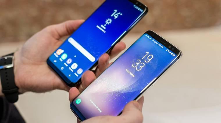 Dübörög a Galaxy S8 kép