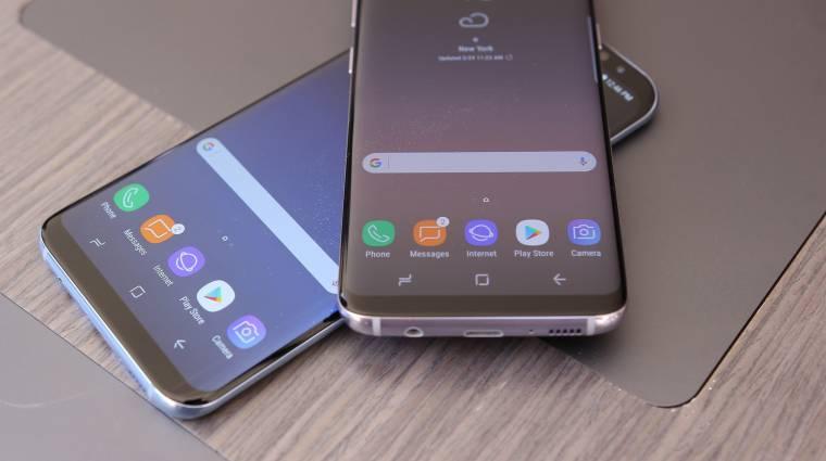 Dupla kamerás Galaxy S8+ is létezett kép