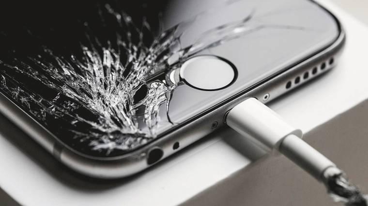 Öngyógyító kijelzőt kaphatnak a jövő okostelefonjai kép