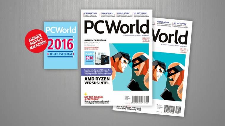 AMD versus Intel az áprilisi PC Worldben kép
