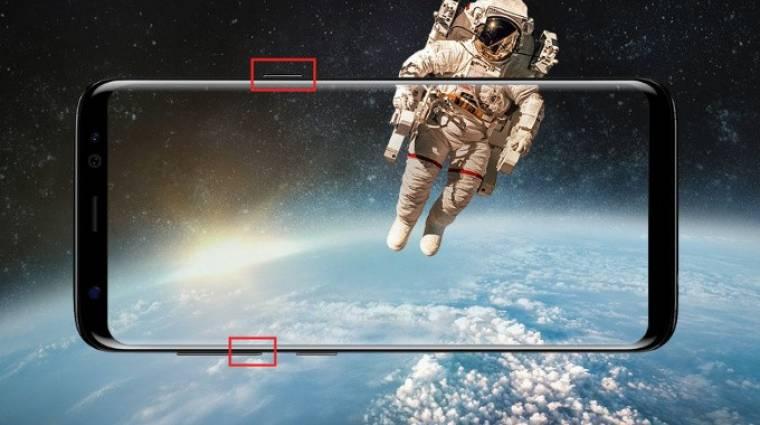 Így csinálhatsz képernyőképet a Samsung Galaxy S8-on kép