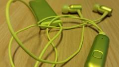 Kihalt minden, csak a zene szól: Sony MDR-EX750NA teszt kép