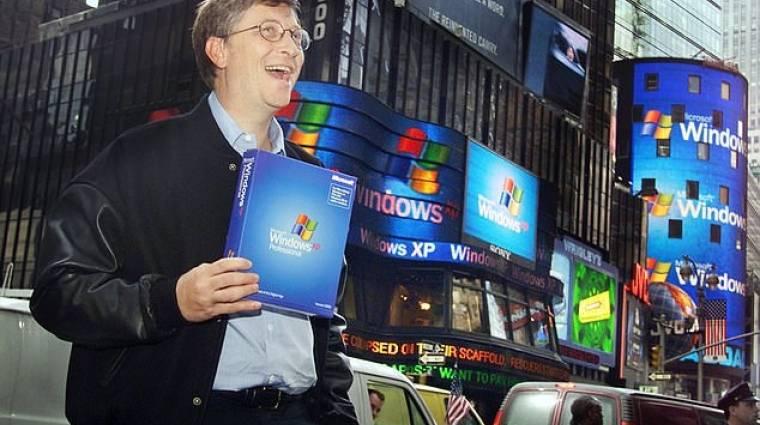 A Windows XP még mindig nagyon menő kép