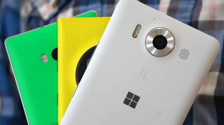 Rejtélyes okostelefonon dolgozik a Microsoft kép