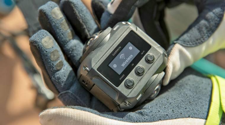 5K-s és AR-képes a Garmin 360 fokos kamerája kép