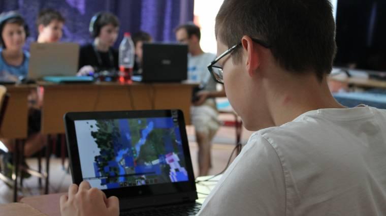 Indul a budapesti Minecraft tábor kép