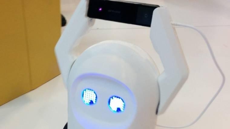 Ezt a gépet szánja a robotok agyának az Intel kép