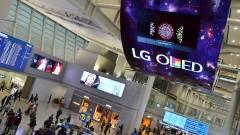 Felturbózza az OLED-gyártást az LG kép