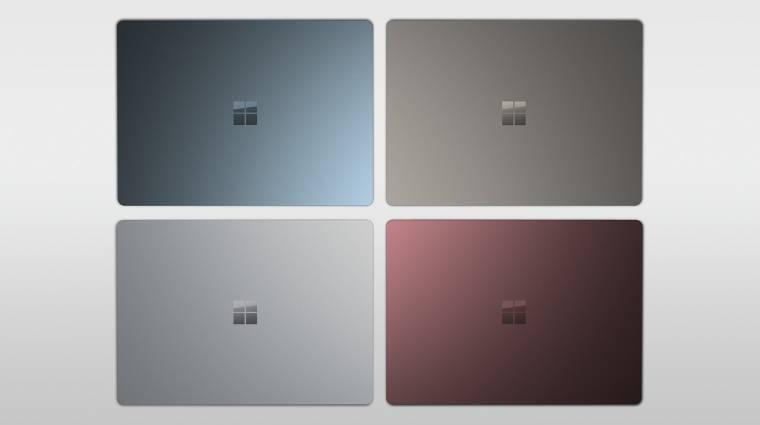 A diákok kedvence lenne a Microsoft Surface Laptop kép