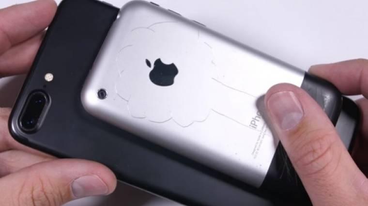 Így bírja a kínzást egy iPhone kép