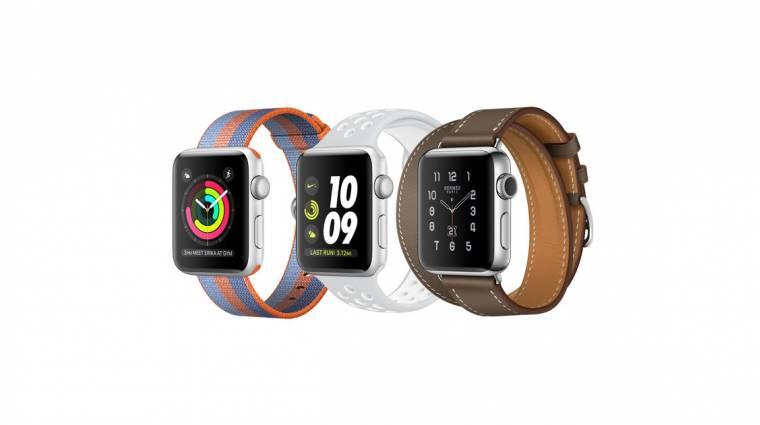 Az Apple Watch a viselhető kütyük királya kép