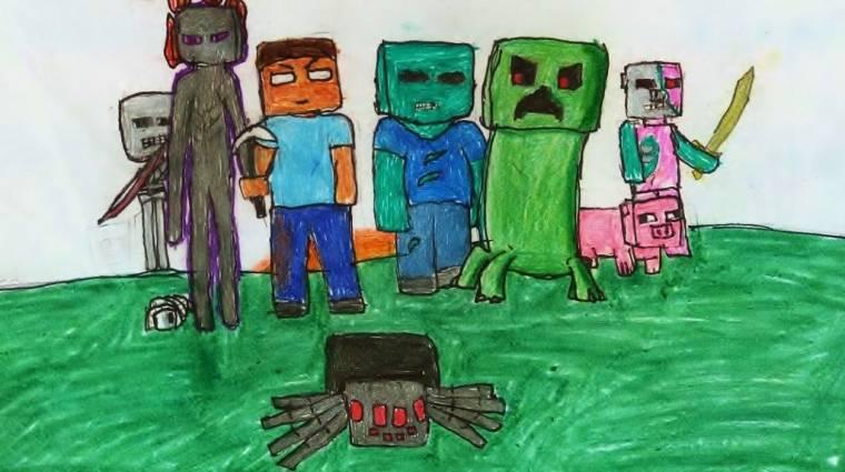Nyerj belépőt a Minecraft táborba kép