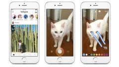 Alaposan odacsapott az Instagram a Snapchatnek kép