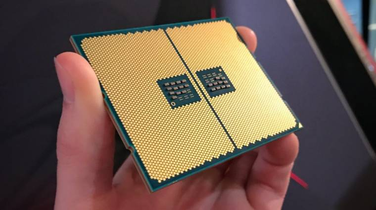 Fotón egy Threadripper CPU alja kép