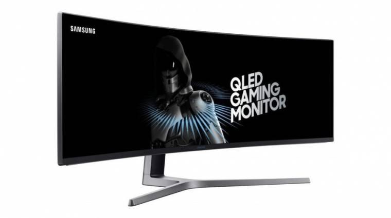 Döbbenetes, DFHD-s monitorral állt elő a Samsung kép