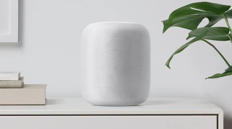 Csúcshangzással tarolna az Apple HomePod hangszórója kép