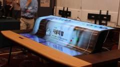 Elképesztő kijelzőt villantott az LG kép