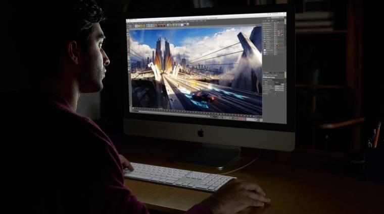 Lehengerlően erős az új iMac Pro; szebbek és jobbak az új iPadek kép