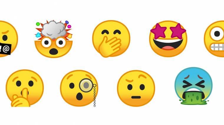 Özönlenek az új emojik kép