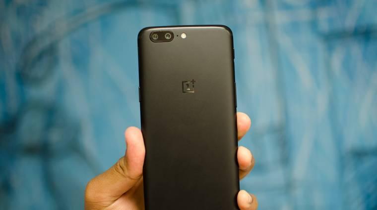 Megkapta az első frissítését a OnePlus 5 kép