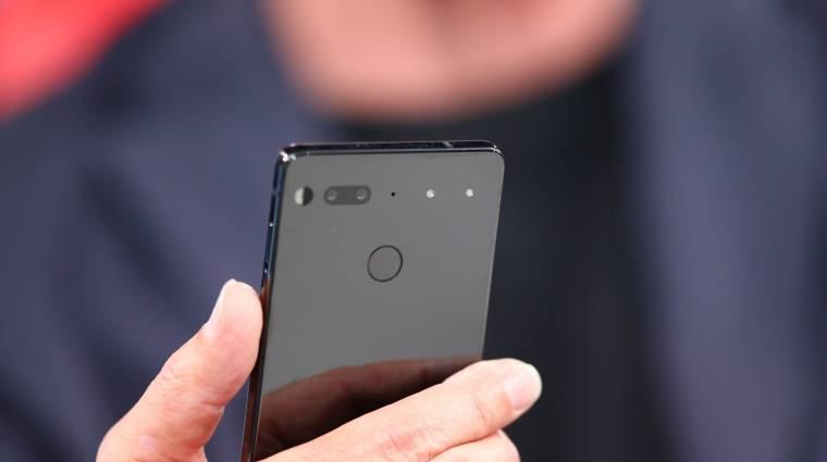 Videón az Essential Phone csodamobil kép