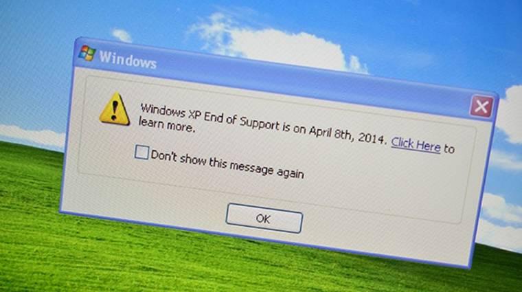 Megint javítást kapott a Windows XP kép