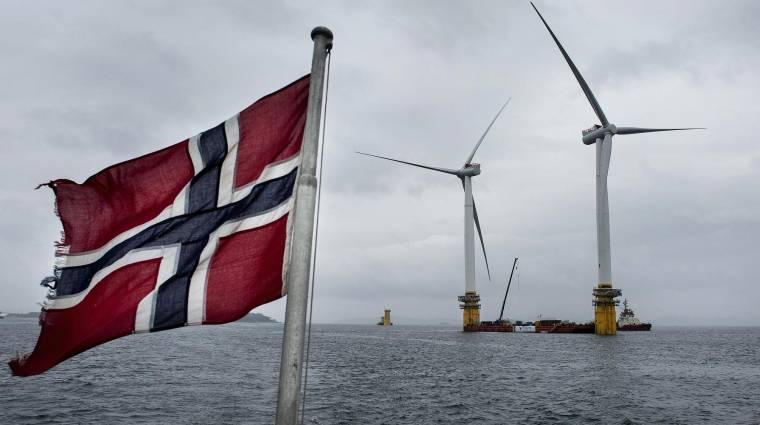 Norvég szél hajtja a Google adatközpontját kép