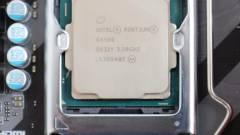 Túl jó a Pentium G4560, ezért kivonják a forgalomból kép