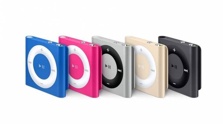 Nyugdíjba ment az iPod shuffle kép