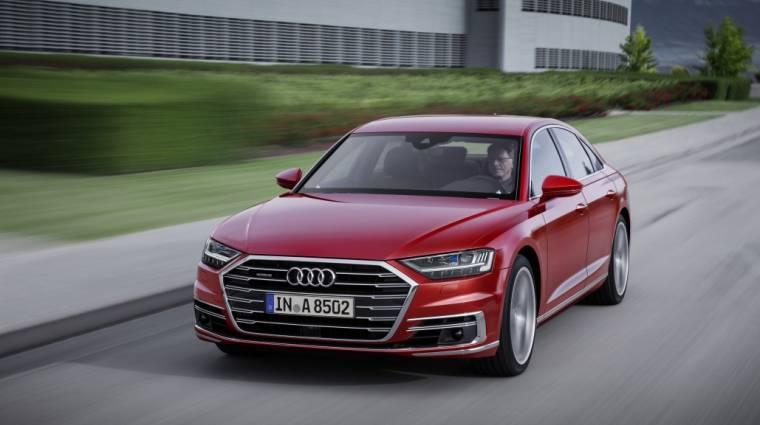 A dugóban is boldogul az Audi és az NVIDIA robotpilótája kép