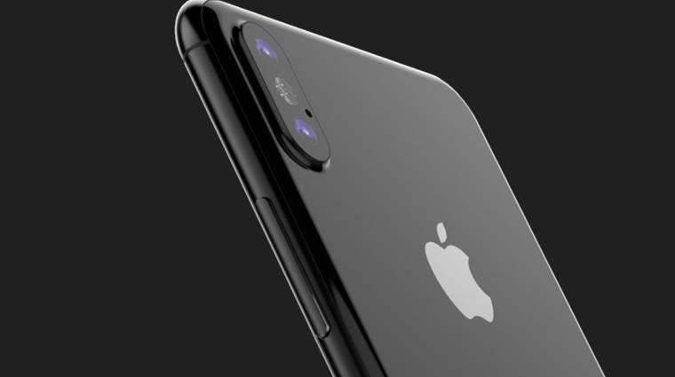 Új lézerrendszerrel erősít az iPhone 8 kép