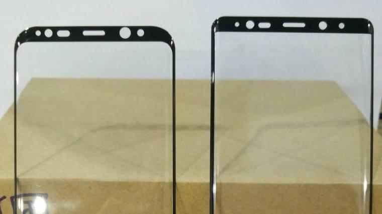 Egy képen a Galaxy Note 8 és a Galaxy S8+ előlapja kép