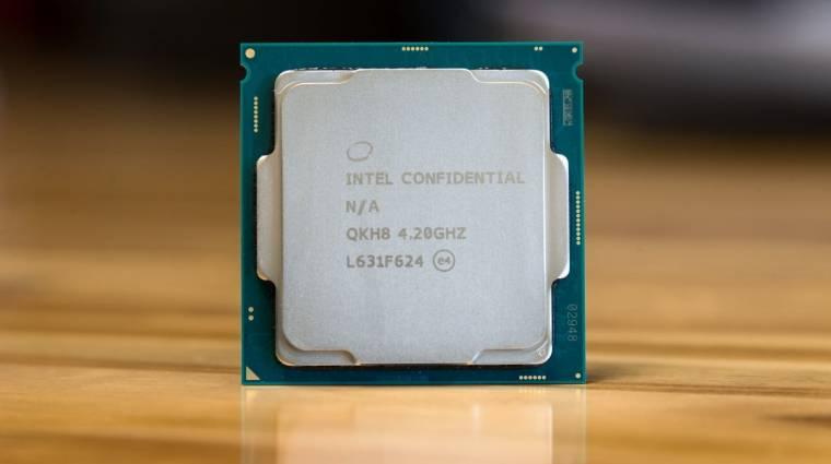 6-magos Coffee Lake processzorokkal támad az Intel kép