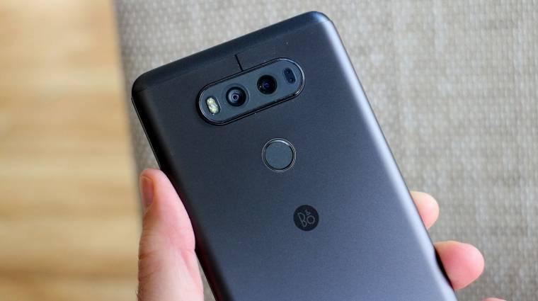 A Geekbench-en az LG V30 kép