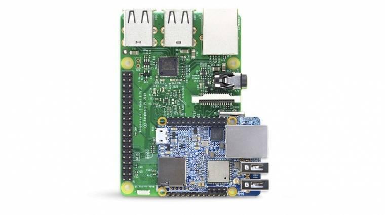 A Raspberry Pi fele a NanoPi Neo Plus2 kép