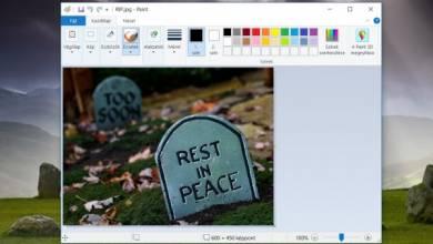 Vége, ennyi volt: a Windows 10 kinyírja a Paintet!!4!!!!NÉGY!