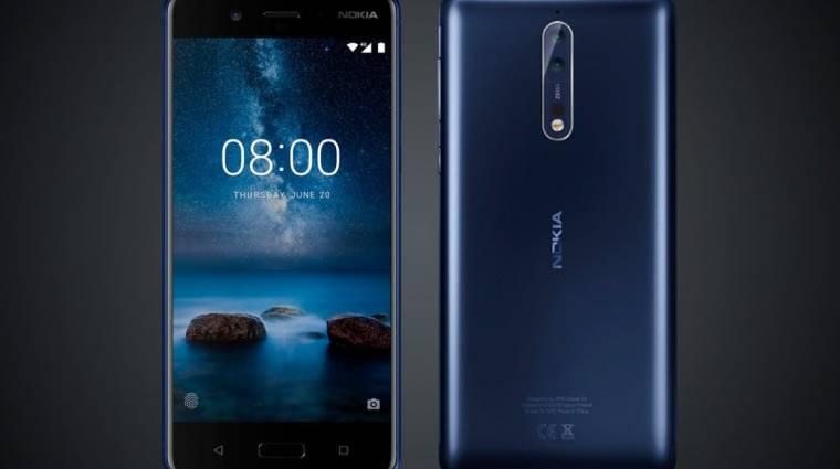 520 euróba kerülhet a Nokia 8 kép