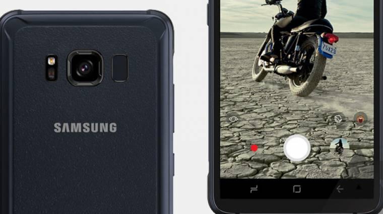 Újabb fotókon a Galaxy S8 Active kép