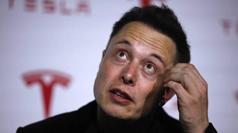 Elonk Musk retteg a mesterséges intelligenciától kép