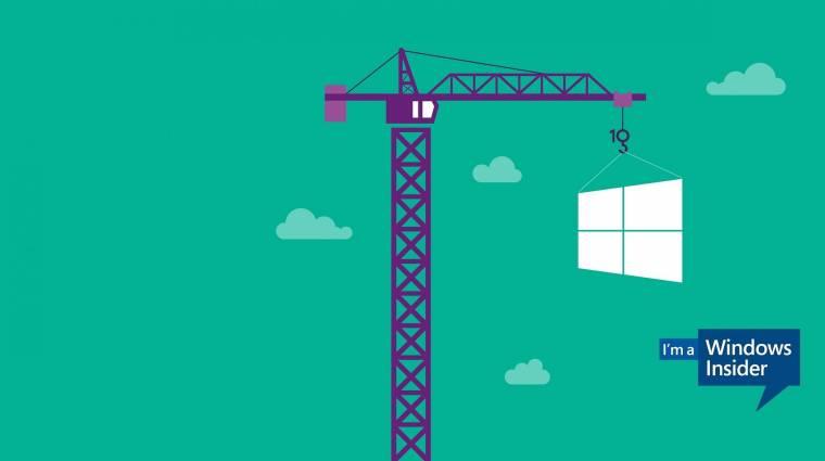 Apróbb újdonságokat hozott a Windows 10 legutóbbi előzetese kép