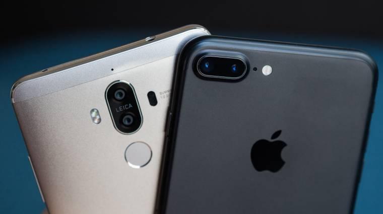 A Huawei most kiütheti az Apple-t kép