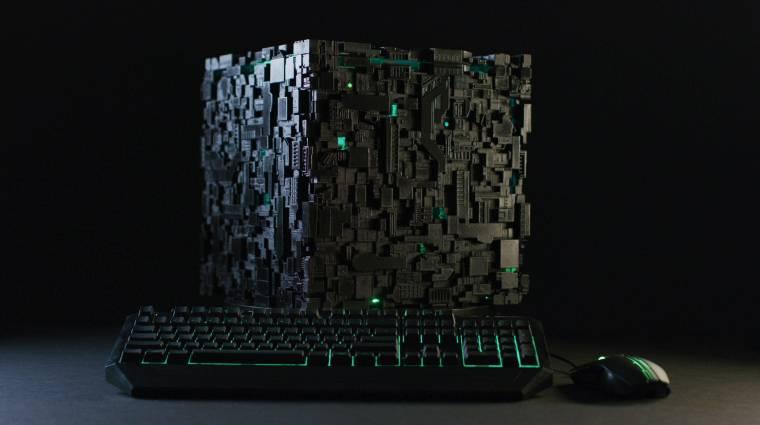 Különleges PC-t akarsz? Itt egy borg kocka kép