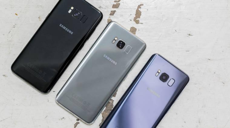 Még ügyesebb lett a Galaxy S8 kép